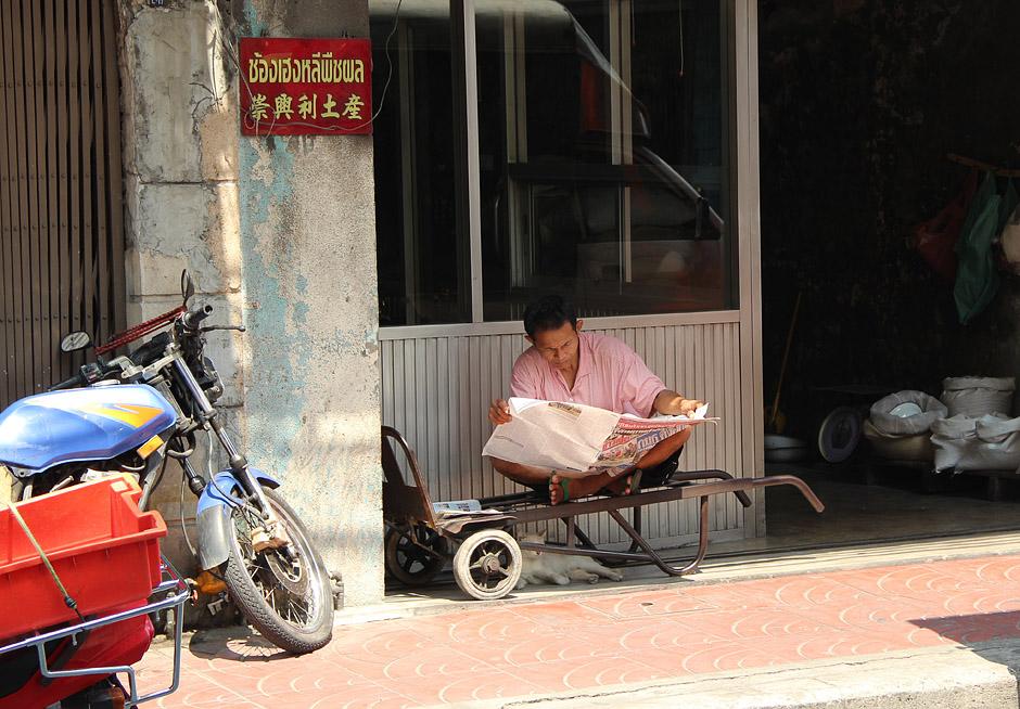 Bangkok, Chinatown, Samphanthawong, Thanon Ratchawong