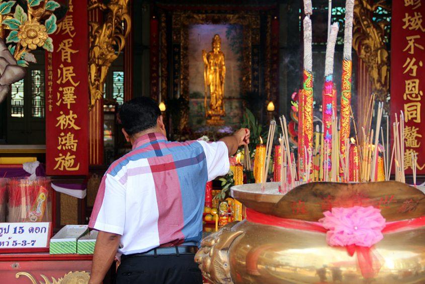 Bangkok, Chinatown, Samphanthawong, Tempel, Thien Ta Foundation