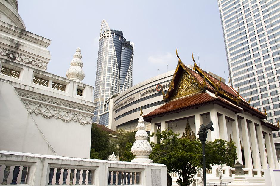 bangkok, Siam Square, Wat Pathum Wanaram