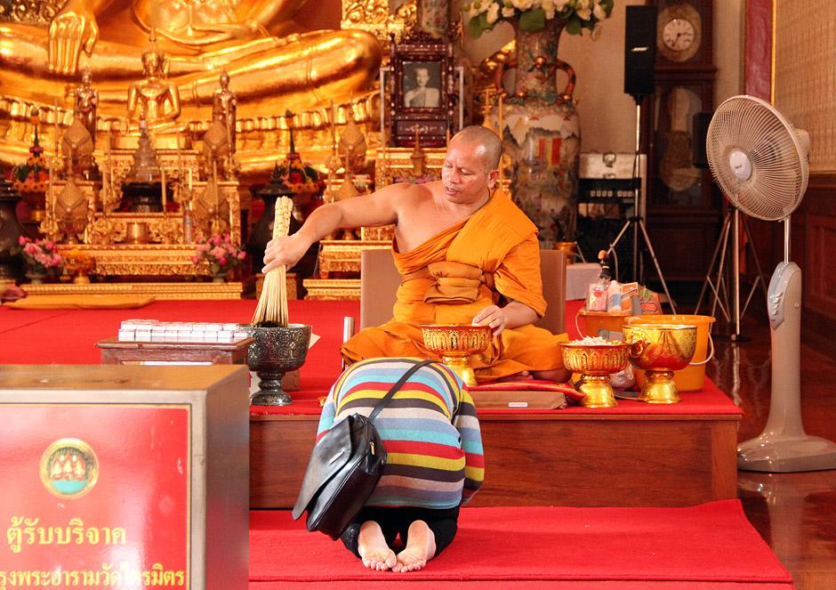 Bangkok, Chinatown, Samphanthawong, Tempel des Goldenen Buddhas