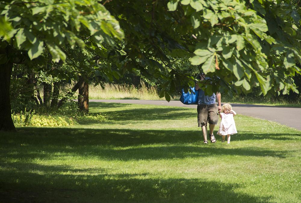 Britzer Garten, Kastanien