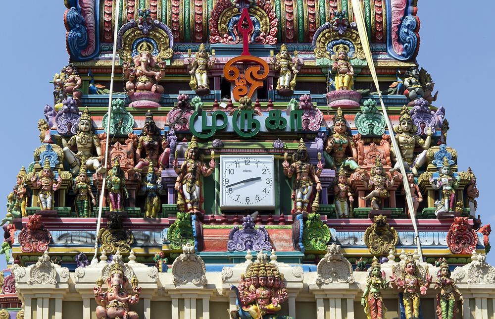 Britz, Hindu-Tempel