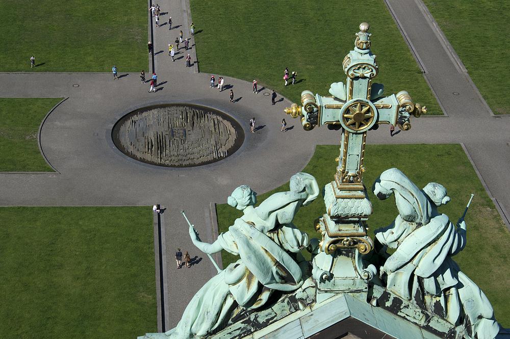 Lustgarten vom Berliner Dom aus gesehen