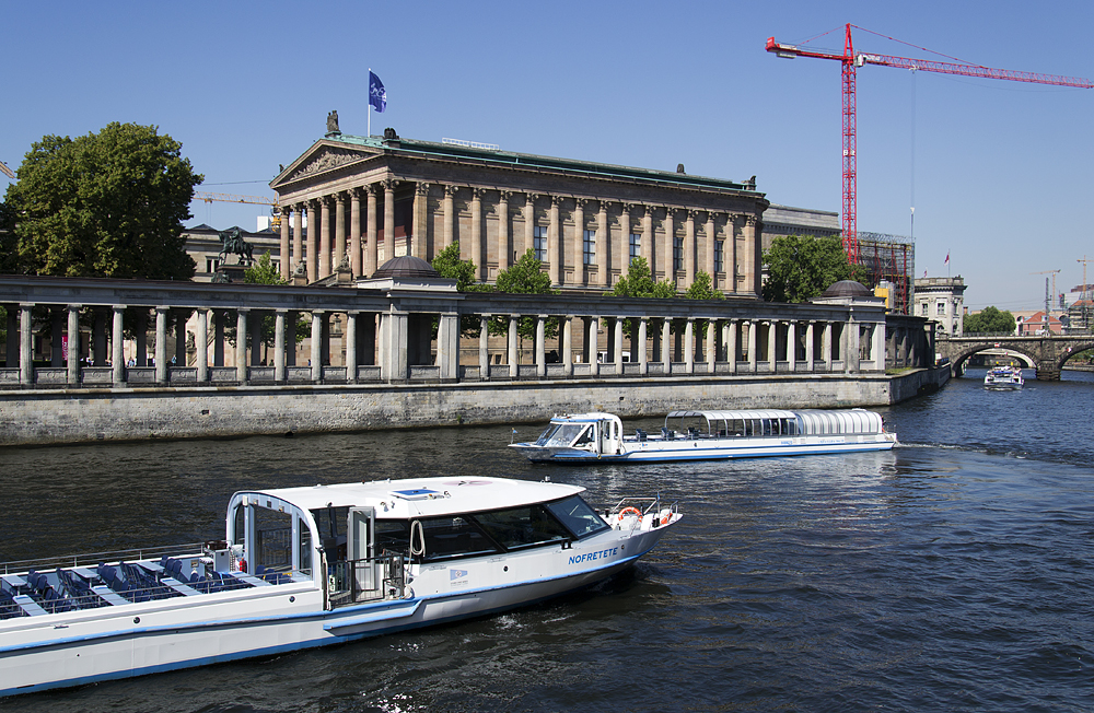 Museumsinsel Berlin, Alte Nationalgalerie, Spree