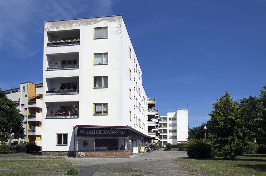 Großssiedling Siemensstadt, Ring-Siedlung, Hans Scharoun, Panzerkreuzer