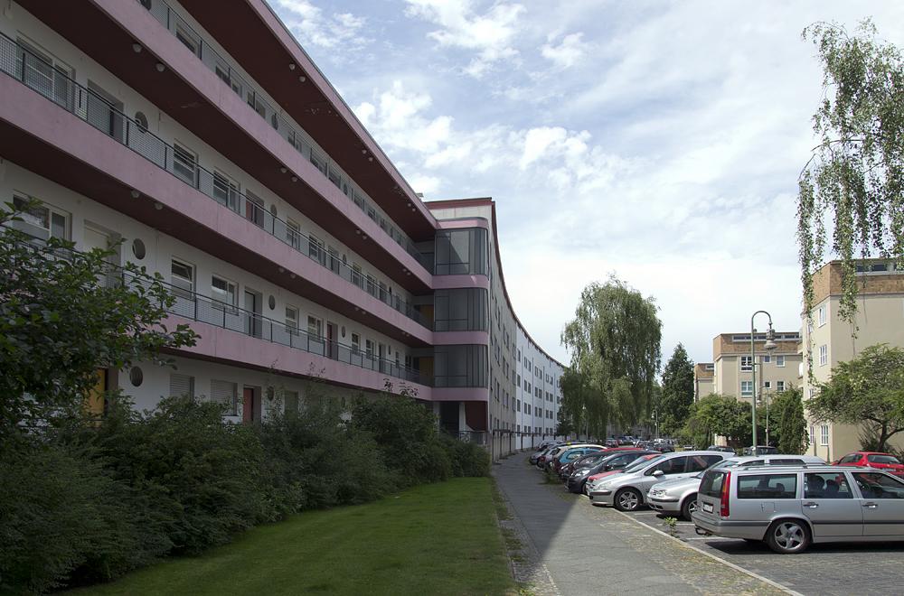 Großssiedling Siemensstadt, Ring-Siedlung, Hans Scharoun