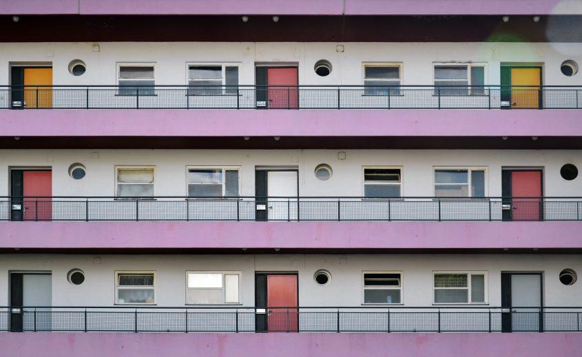 Großssiedling Siemensstadt, Ring-Siedlung, Scharoun