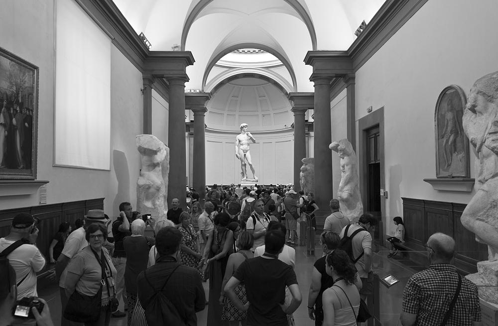 Florenz, Galleria dell'Accademia, David von Michelangelo
