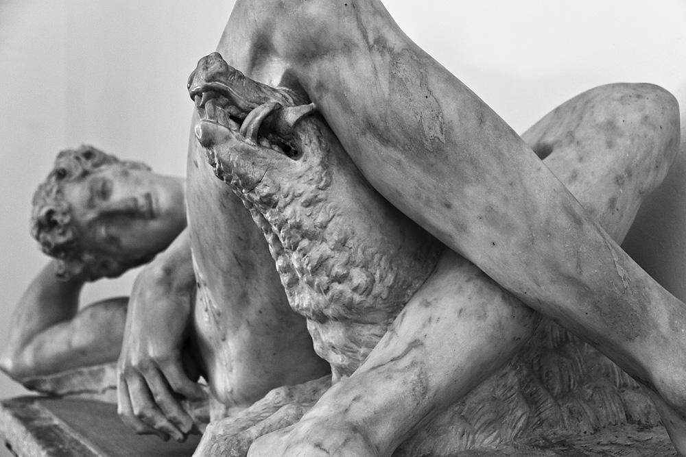 Bargello, Florenz, Fabian Fröhlich, Vincenzo de'Rossi, Sterbender Adonis