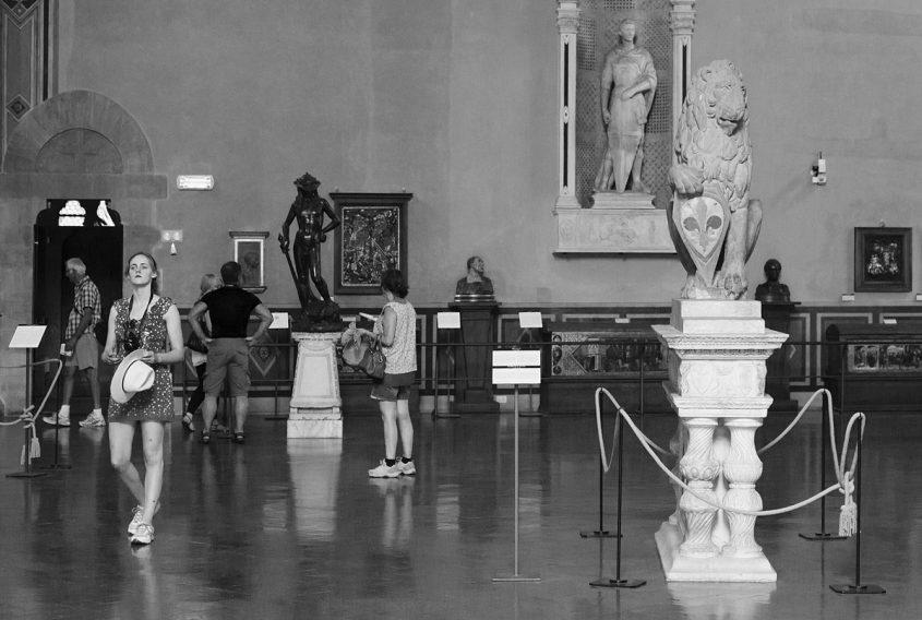 Bargello, Florenz, Fabian Fröhlich, Donatello-Saal