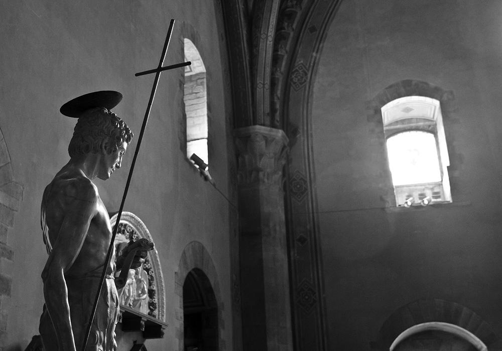 Bargello, Florenz, Fabian Fröhlich, Francesco de Sangallo, Johannes der Täufer