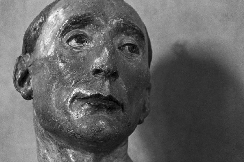Bargello, Florenz, Fabian Fröhlich, Desiderio de Settignano, Büste des Niccolo de Uzzano