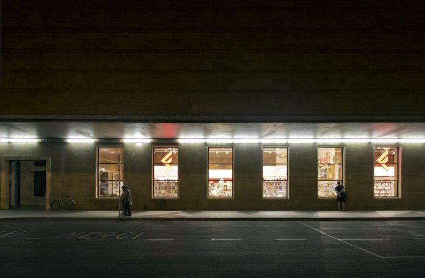 Florenz bei Nacht, Bahnhof