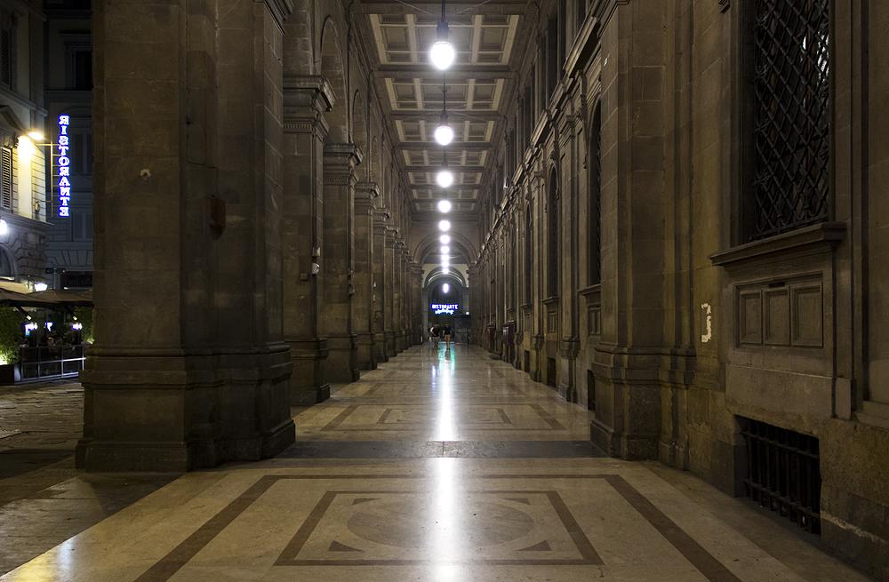 Florenz bei Nacht, Via Pelliceria
