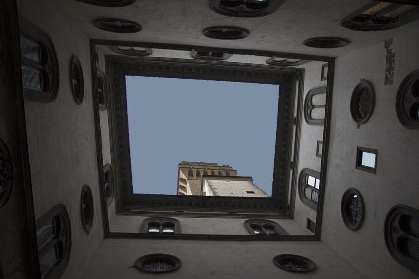 Vlorenz, Palazzo Vecchio, Innenhof