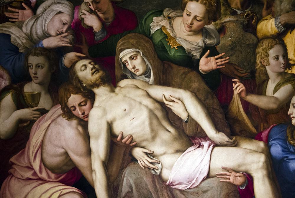 Palazzo Vecchio, Beweinung Christi von Bronzino in der Cappella di Eleonora