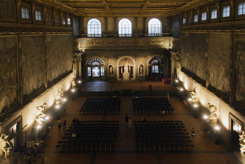 Palazzo Vecchio, Salone dei Cinquecento
