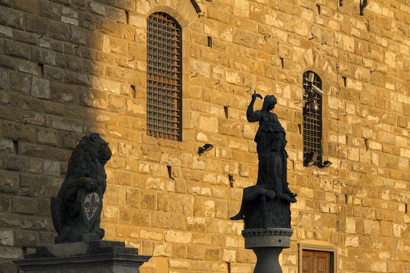 Kopie von Donatellos Judith vor dem Palazzo Vecchio