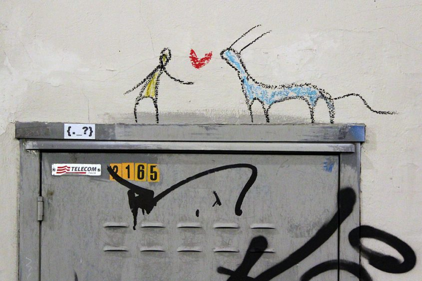 Florenz, Street Art, Exit Enter