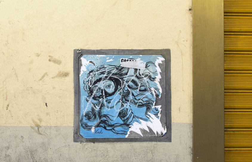 Street Art, Firenze, Blub, L'arte Sa Nuotare, Botticelli, Venus