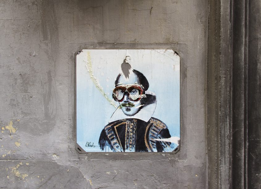 Street Art Firenze, Shakespeare, (Blub, L'arte Sa Nuotare)