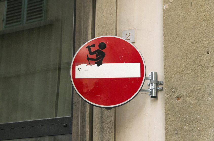 Street Art, Firenze, Clet