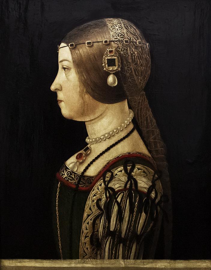 Uffizien, Alessandro Araldi, Porträt der Beatrice d'Este
