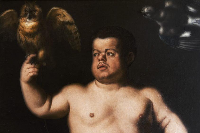 Uffizien, Bronzino, Poträt des Zwergs Morgante