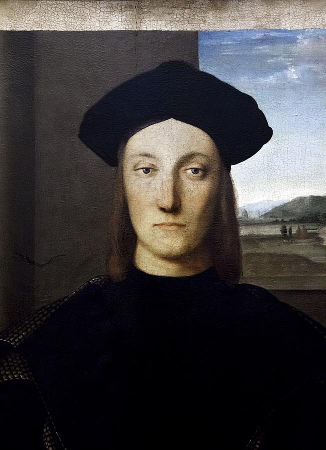 Uffizien, Raffael, Poträt des Guidobaldo da Montefeltro