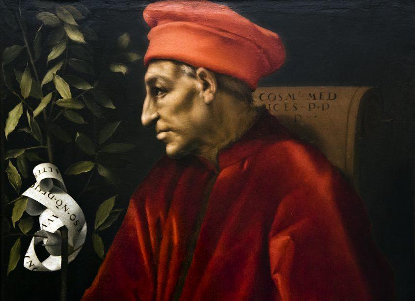 Uffizien, Jacopo da Pontormo, Cosimo der Ältere