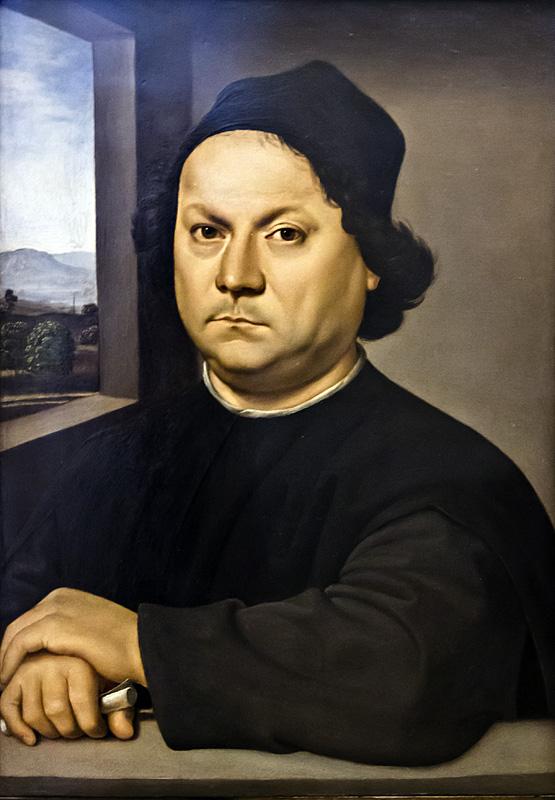 Uffizien, Raffael, Porträit eines Mannes