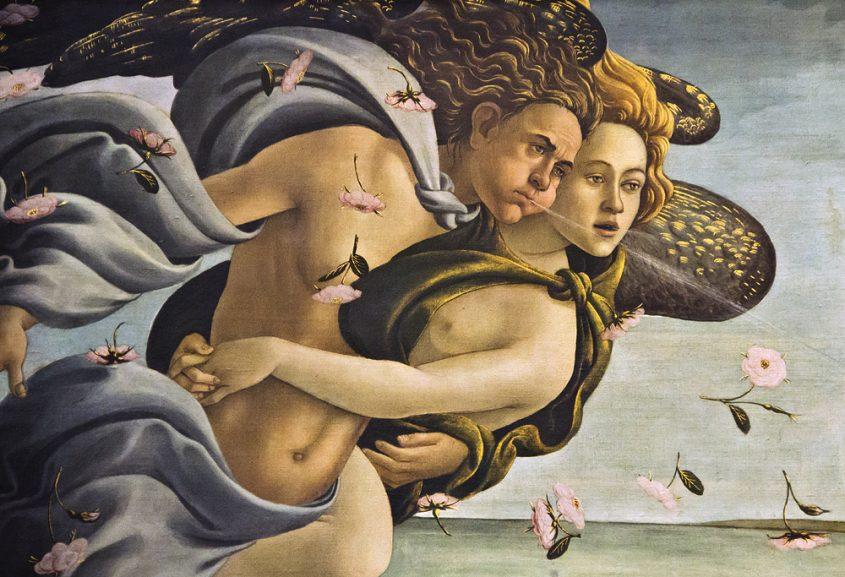 Uffizien, Botticelli, Geburt der Venus