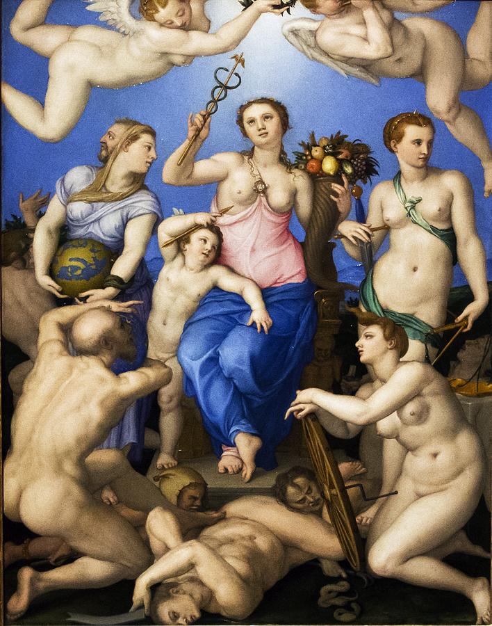 Uffizien, Bronzino, Allegorie des Glücks