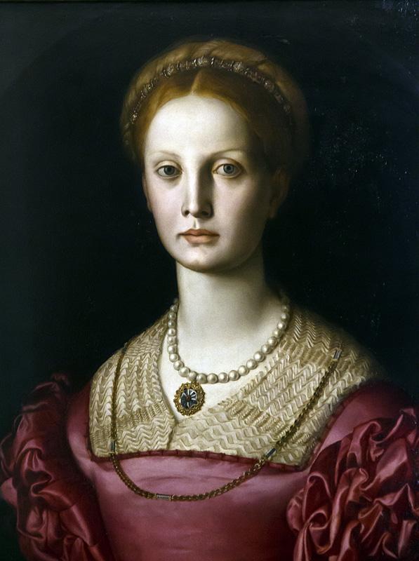 Uffizien, Agnolo Bronzino, Porträt der Lucrezia Panciatichi
