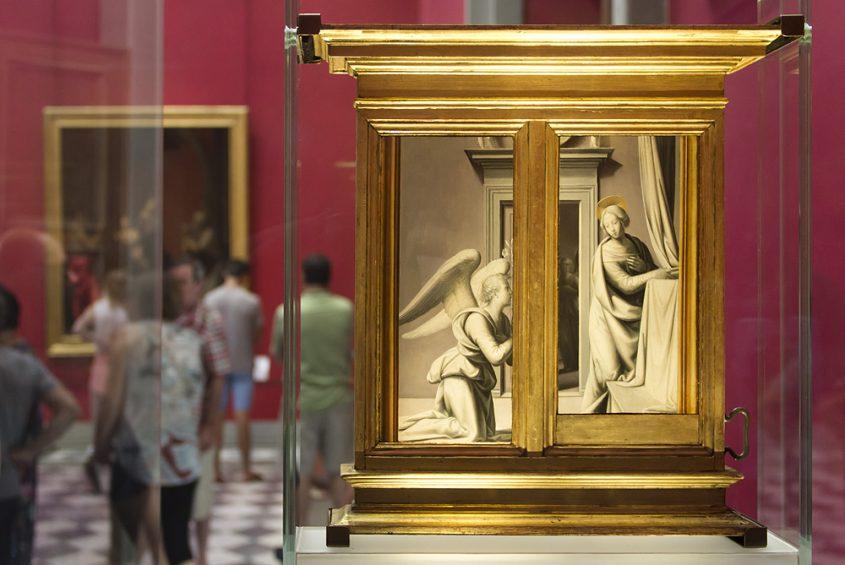 Uffizien, Fra Bartolomeo, Verkündigung