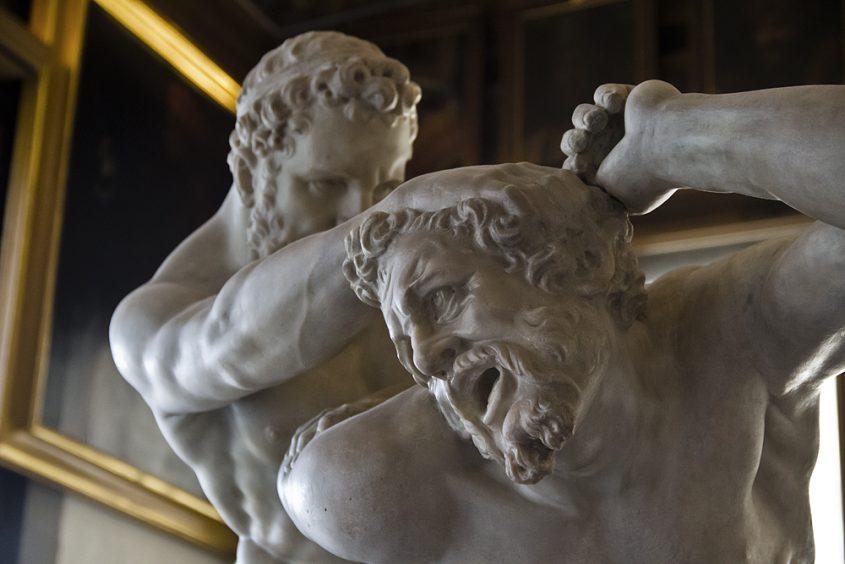 Uffizien, Giovanni Caccini, Herkules und Nessus
