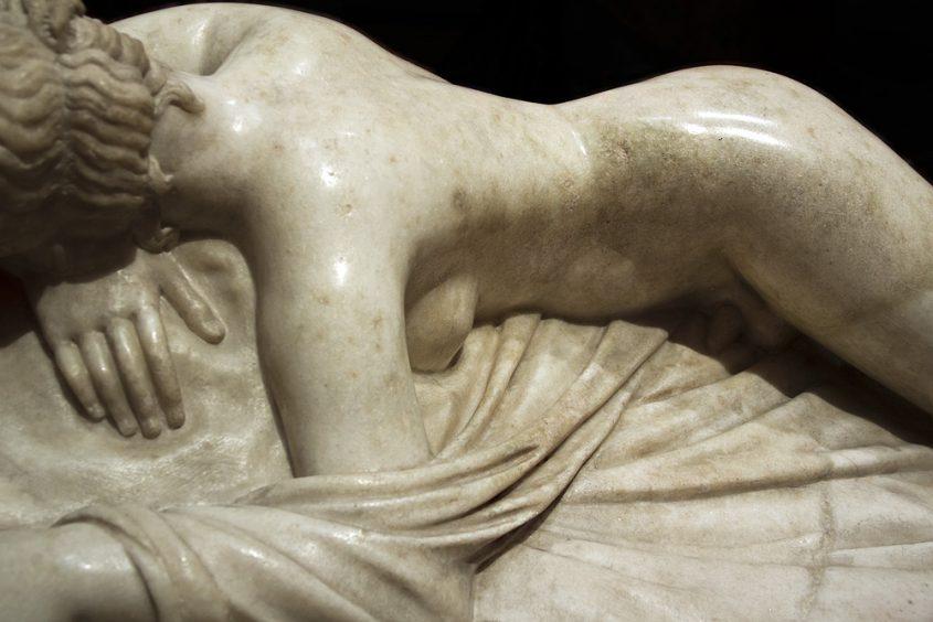 Uffizi, Schlafender Hermaphrodit