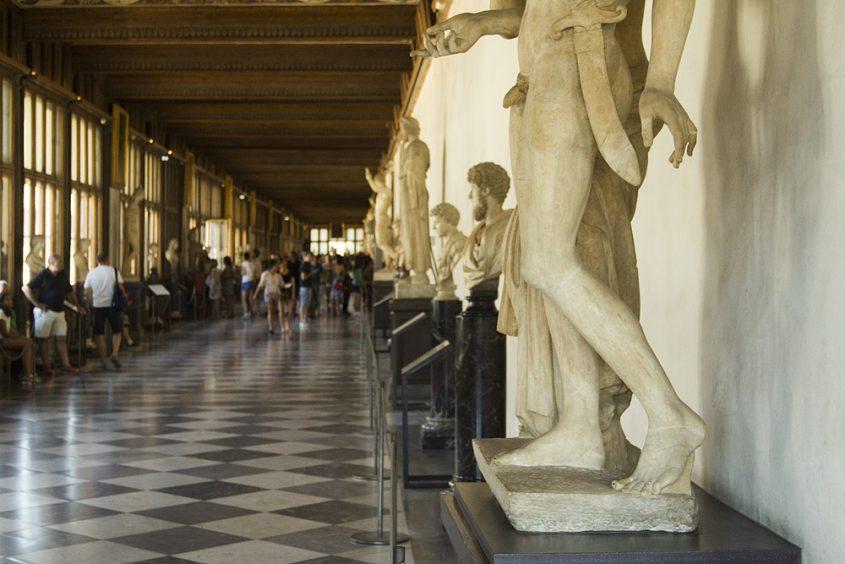 Uffizien, Korridor Ost