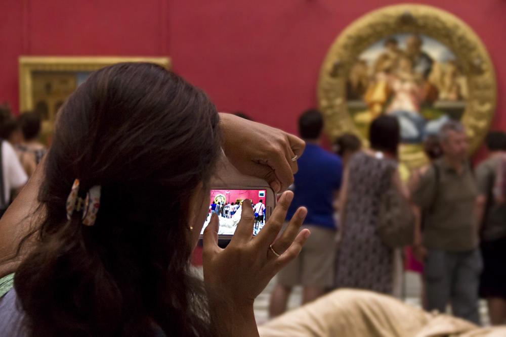 Uffizien, Michelangelo, Heilige Familie (Doni Tondo)