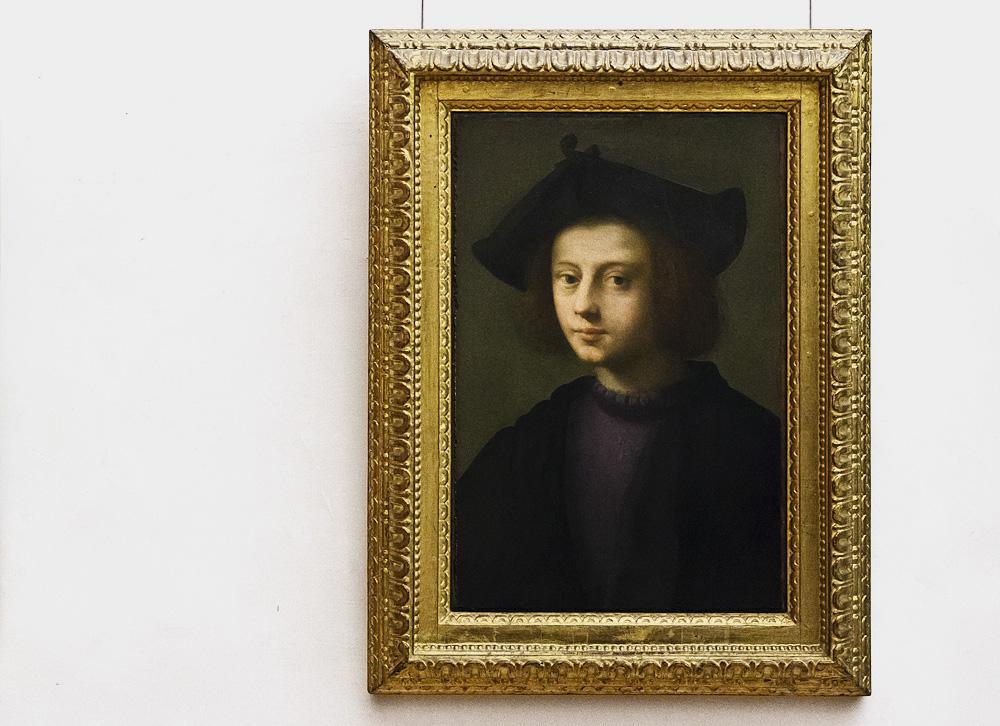 Uffizien, Domenico Ubaldini gn. Puligo, Porträt des Piero Carnesecchi