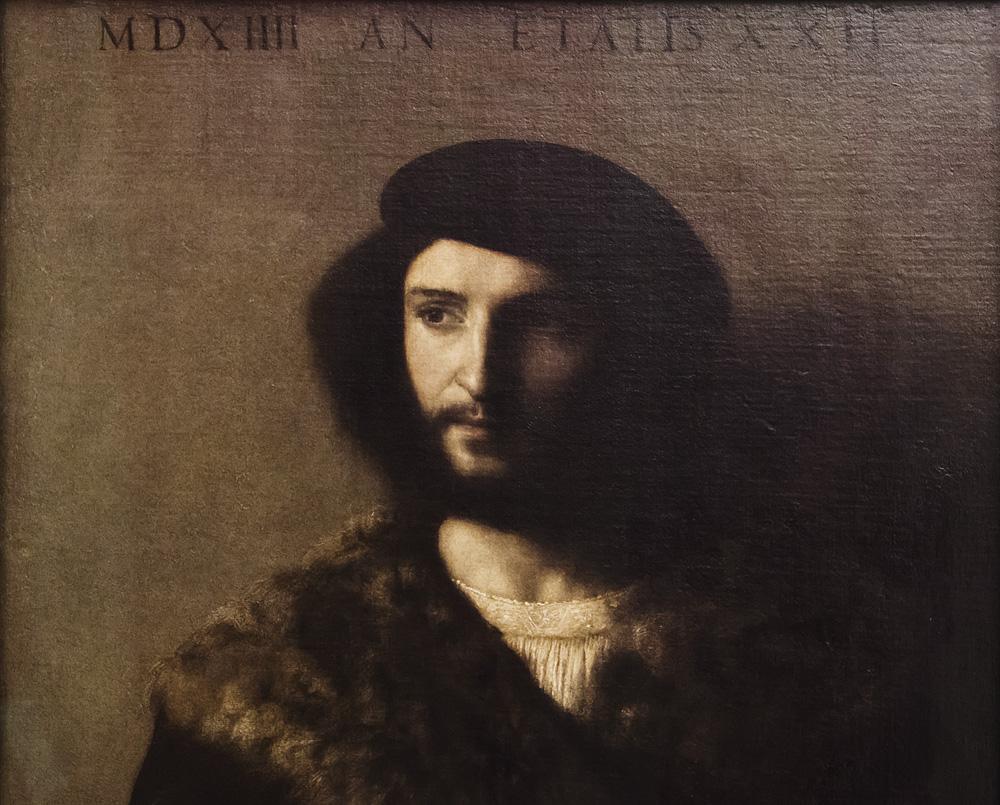 Uffizien, Tizian, Der kranke Mann