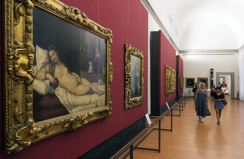 Uffizien, Tizian, Venus von Urbino