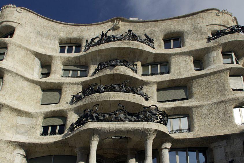 Barcelona, Casa Milà, La Pedrera, Antoni Gaudí