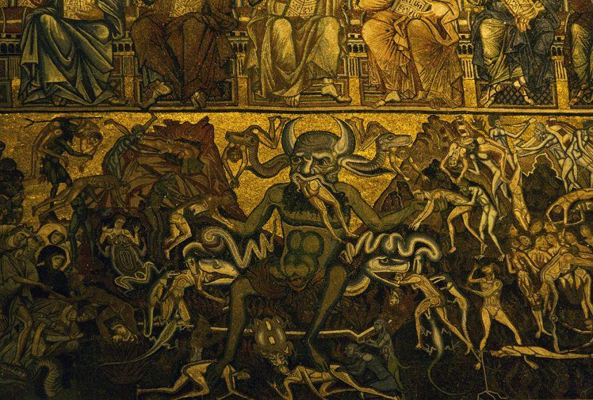 Battistero di San Giovanni, Kuppelmosaik