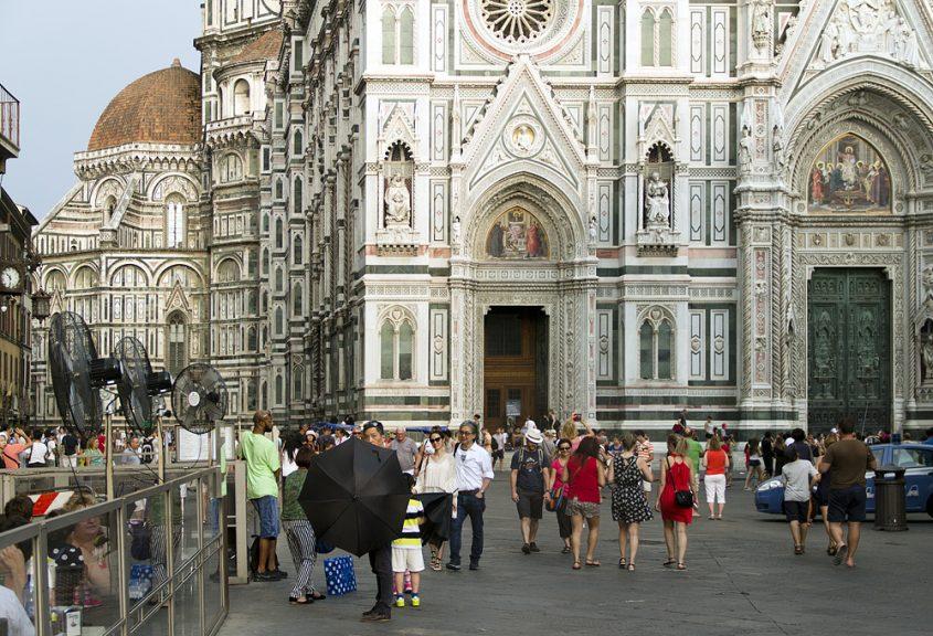 Florence, Piazza San Giovanni