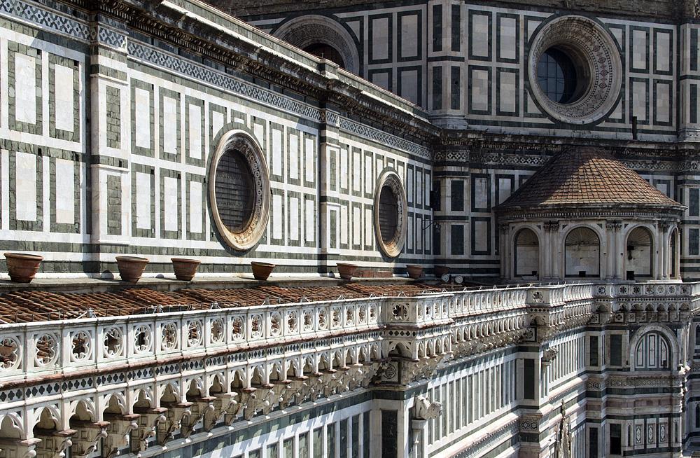 Florence, Dom Santa Maria del Fiore, Kirchenschiff und Kuppel
