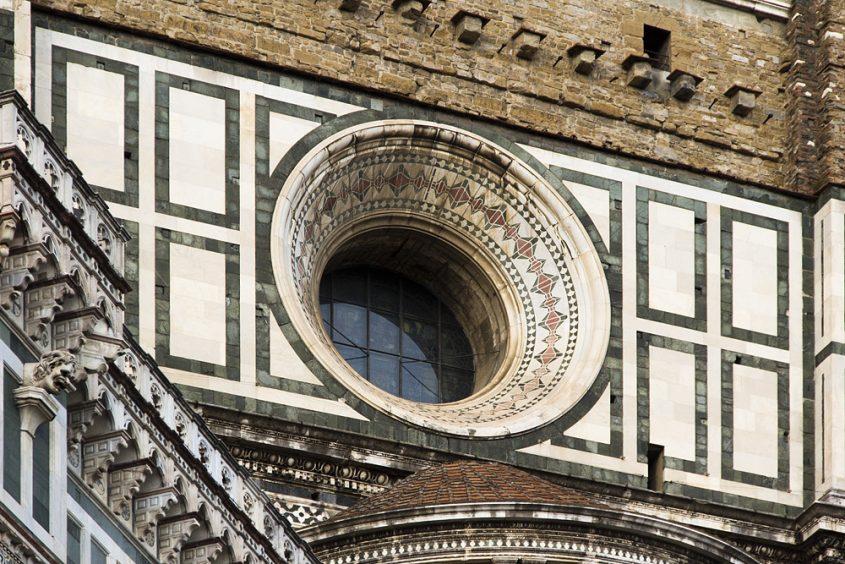 Florence, Dom Santa Maria del Fiore, Fenster