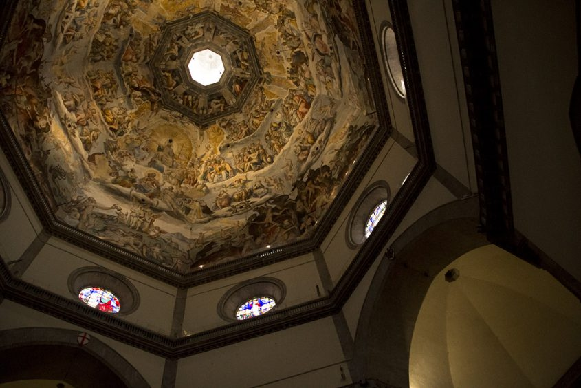 Duomo Santa Maria del Fiore, Blick in die Kuppel, Vasari