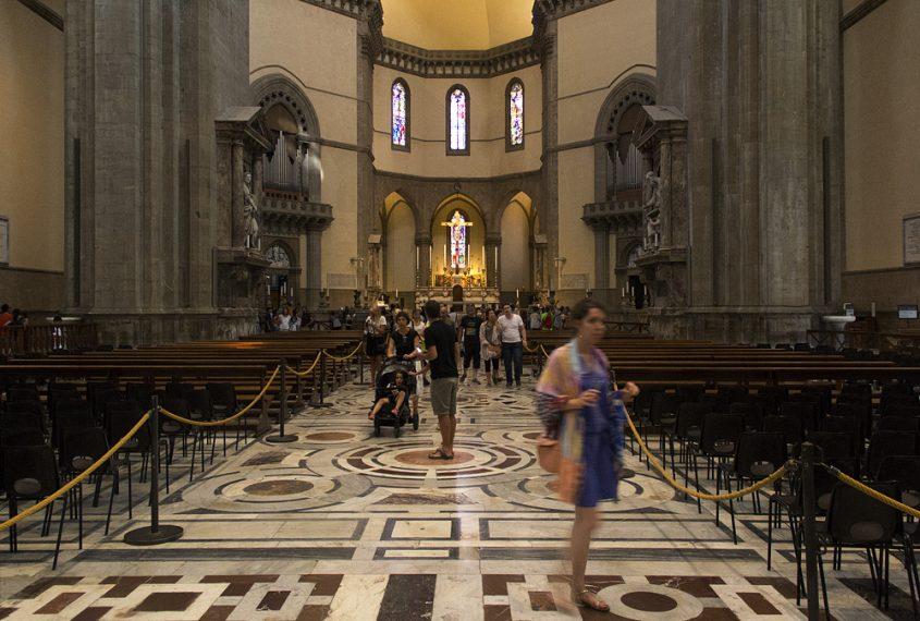 Duomo Santa Maria del Fiore, Kirchenraum mit Blick nach Osten