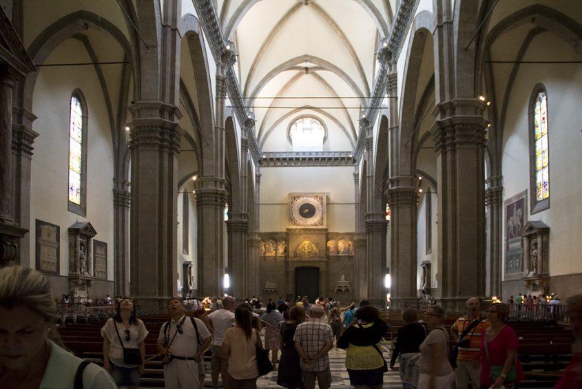 Dom Santa Maria del Fiore, Mittelschiff